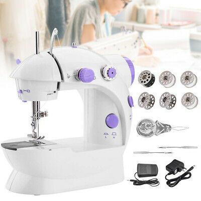 Household Portable Mini Sewing Machine Crafting Mending Machine with Light