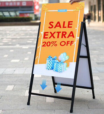 Corflute Insert A-frame/Sandwich Board Advertising Display Poster Stand 600X900