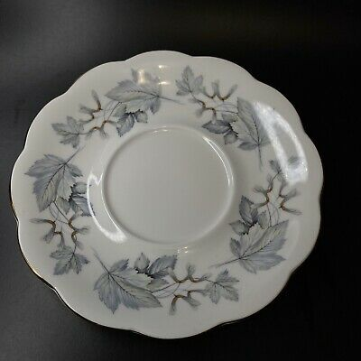 Royal Albert Silver MaplelTray / Saucer Only for under round gravy boat