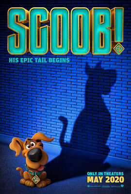 SCOOB! MOVIE POSTER 2 Sided ORIGINAL Advance 27x40 WILL FORTE ZAC EFRON
