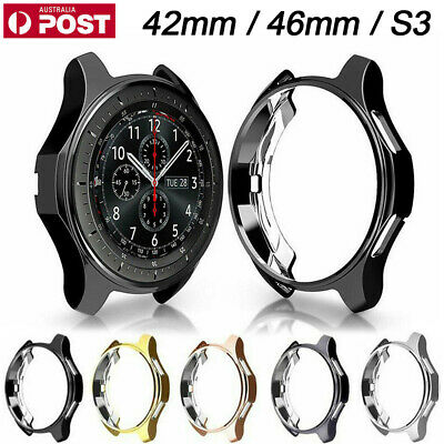 Silicone TPU Protector Bumper Case Cover for Samsung Galaxy Watch 42mm 46mm S3
