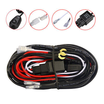 Isolated Loom Spot Lights Driving//Fog Lamps Wiring Kit for Alpina