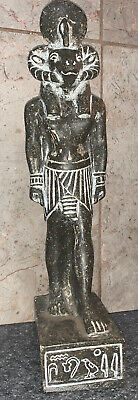 Khnum is an ancient Egyptian *Collectible * Statue * Made In Egypt * Rare
