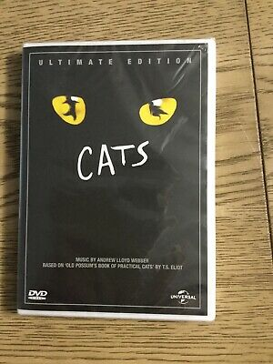 Cats - Ultimate Edition - Musical -  (DVD) NEW & SEALED Bonus Footage
