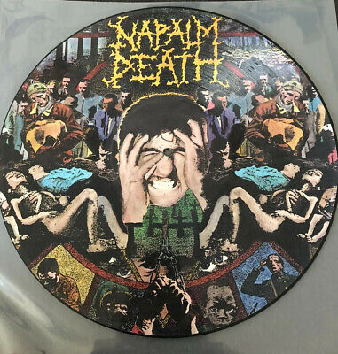 Napalm Death, From Enslavement To Obliteration Picture LP