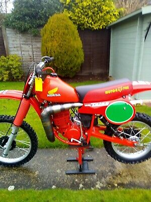 Honda Red Rocket CR 250 Twinshock 1980