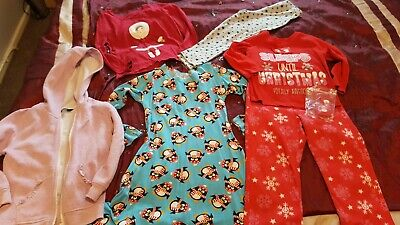 Girl's Christmas/Winter Clothes Bundle Age 3-4