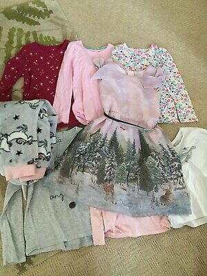 girls bundle age 8 Winter Dress Unicorn All In One Long Sleeved Tops