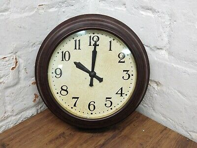 Vintage Smiths Bakelite 8 Day Mechanical Wall Clock
