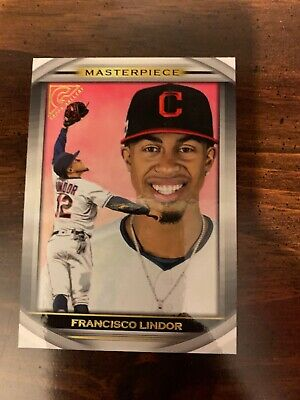 Francisco Lindor - 2019 Topps Gallery Masterpiece Card #Mp-9 Cleveland Indians