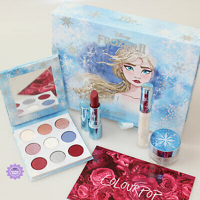 ColourPop Disney Frozen 2 Elsa Collection Set *100% GENUINE* Frozen II PR Kit