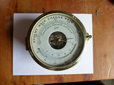 Barometer Ship Clock Schatz Royal mariner