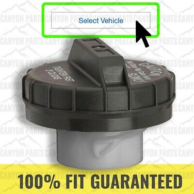 Gates Gas Fuel Tank Cap for 2008-2011 Nissan Rogue 2.5L L4 Gasoline Filler so