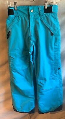 Pulse Youth Insulated Waterproof Winter Cargo Snow Ski Snowboard Pants Blue M