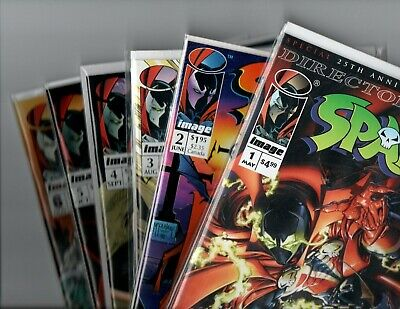 SPAWN 1 - 6 lot NM Many 1st Appearances Todd McFarlane Image hot movie coming