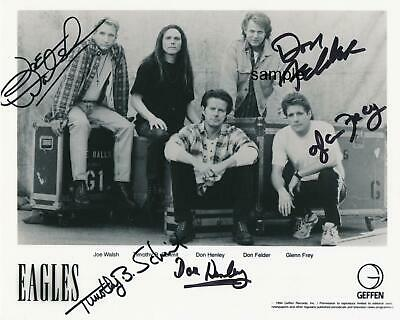 Eagles Band #3 Reprint 8X10 Photo Signed Autographed Picture Man Cave Gift