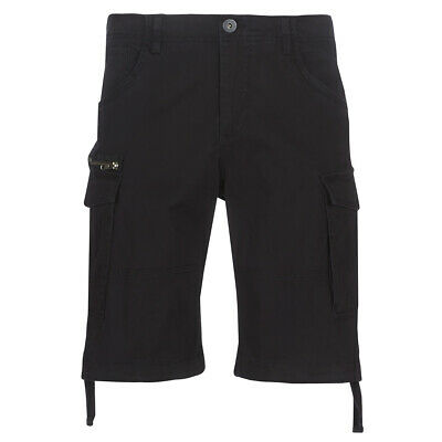 Pantaloni corti uomo Jack   Jones  JJICHOP  Nero  Jack   Jones 12451398SA