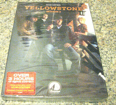 Yellowstone Season 2 Two (Dvd Boxed Set) Brand New In Stock~With Kevin Costner~