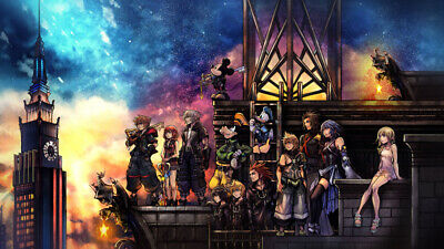 KINGDOM HEARTS 2 POSTER ART PRINT PICTURE A3 11.7 × 16.5 INCH AMK1842