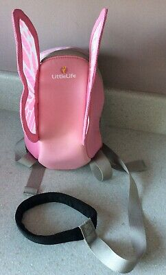 Littlelife Pink Butterfly Backpack & Safety Reins
