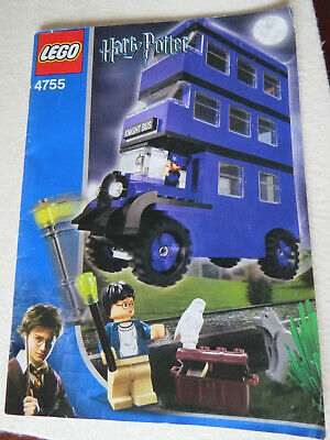 LEGO Harry Potter The Knight Bus (4755) 100% complete