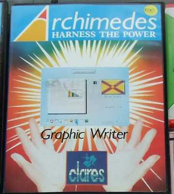 Graphic Writer software for the Acorn Archimedes by Clares