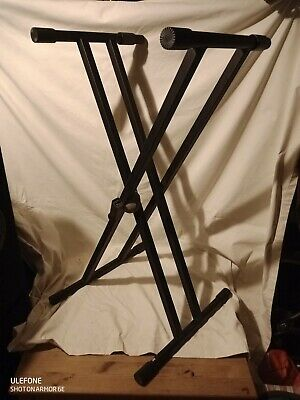 Millenium Heavy Duty Adjustable Fold Up Keyboard Stand, Good Condition