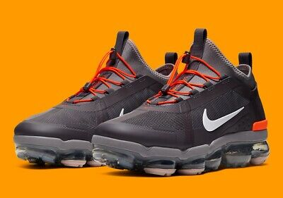 Nike Air Vapormax 2019 Utility Mens Trainers Uk Size 9 44 BV6351 001 Grey New