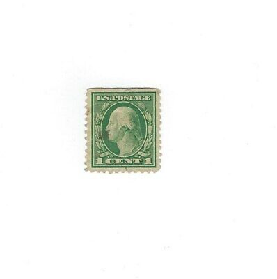 Stamps Washington 1 Cent Green Line 1912 1914 Rare Used 380 00 Picclick