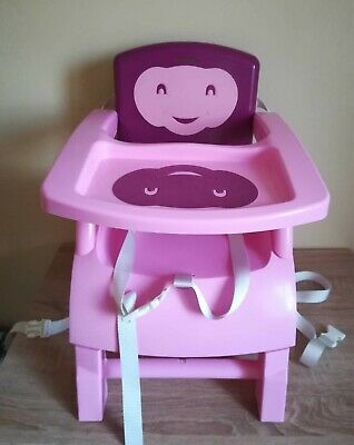 Thermobaby rehausseur de chaise babytop violet rose