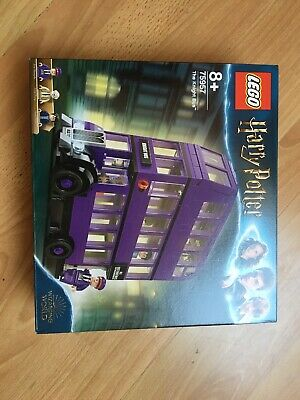 Lego Harry Potter The Knight Bus (75957) Age 8 + New Comes With 3 Mini Figures