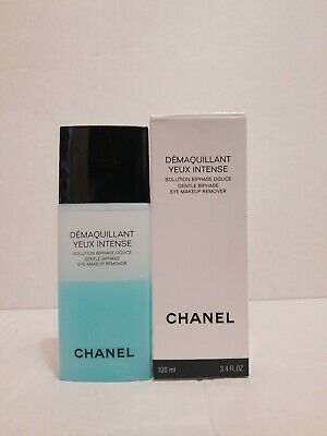 Chanel Gentle Biphase Eye Makeup Remover 100ml  New in White Box