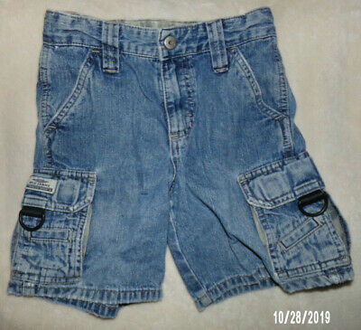 Cargo Jeans Shorts Boys Size 5 regular from Authentic Blue Jeans -- Adj waist
