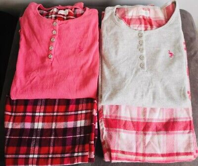 Next - 2 X Long Sleeved Top & Trouser Pyjama Sets  - Girls - Aged 14 Years