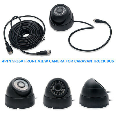 9-36V Front View Backup Reversing Parking Camera for Car Truck Lorry Non-mirror