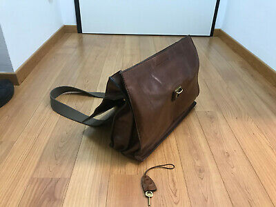 THE BRIDGE Story Uomo Briefcase Aktentasche Henkeltasche Tasche Marrone Braun
