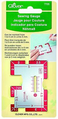 Clover 7705 Sewing Measure Metal Colourful One Size