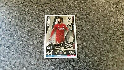Match Attax Extra 2018/19 Le12S Mohamed Salah⭐Silver⭐Limited Edition Mint