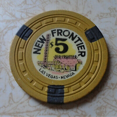 Obsolete, Early New Frontier, Las Vegas $5.00 Casino Chip