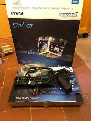 Humax DTR-T2000 500GB YouView+ HD TV Smart Freeview Box Recorder