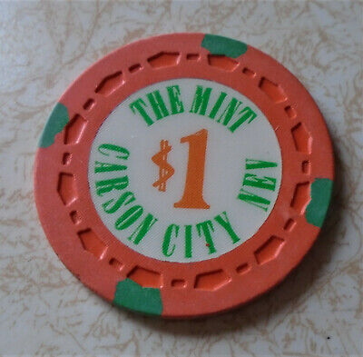Obsolete, Early The Mint, Carson City, NV $1.00 Casino Chip