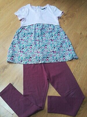 NEXT GIRLS Age 9 TUNIC TOP  & LEGGINGS