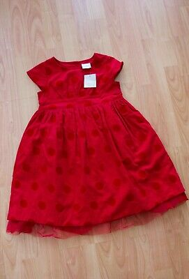 BNWT Girls Christmas Dress from Next age 3-4 years