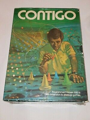 "NEW VINTAGE 1974 ""CONTIGO"" Board Game by Minnesota Mining & MFG Co - SEALED"