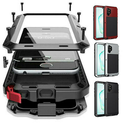 F Samsung Galaxy Note 10+ S10 S9 Metal Shockproof Aluminum HEAVY DUTY Case Cover