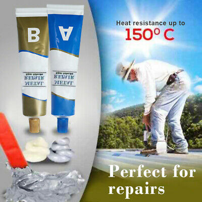 Industrial Heat Resistance Cold Weld Metal Repair Paste-Metal Scratch Repair A+B