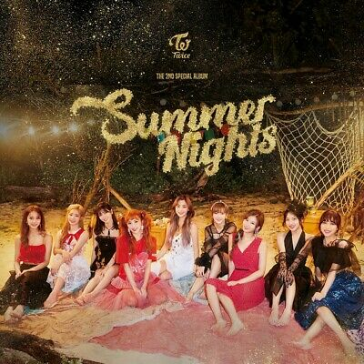 TWICE [SUMMER NIGHTS] Special Album CD+POSTER+P.Book+8p Card+Lyrics+GIFT SEALED