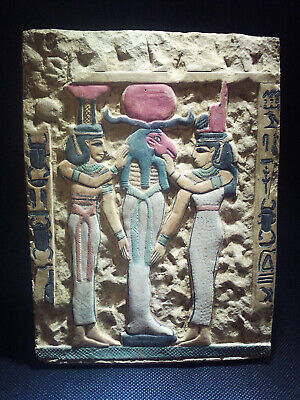EGYPTIAN ANTIQUE ANTIQUITIES Limestone Stela Stele Stelae 1549-1362 BC