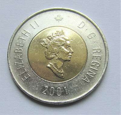 2001 CANADA 2 DOLLAR TOONIE - combined shipping