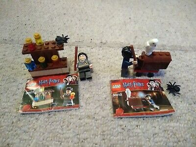 Lego Harry Potter - Trolley with Headwig (30110) & The Lab (30111)